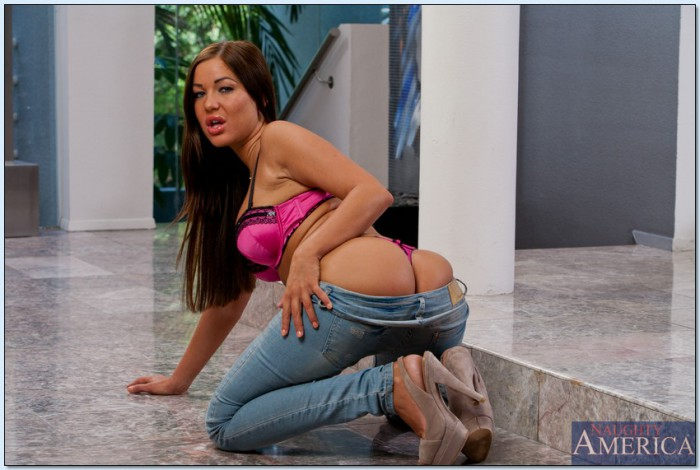 Angelica Heart Jeans